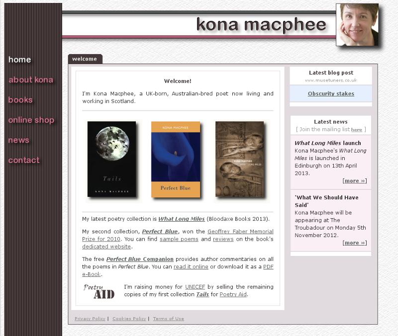 Old konamacphee.com website