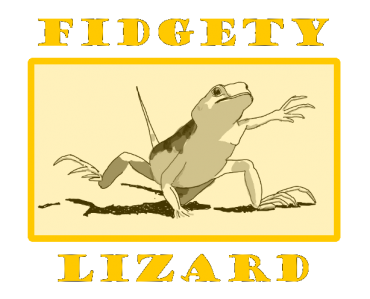 Fidgety Lizard credit