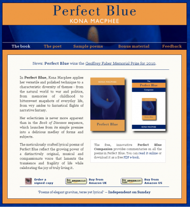 Perfect Blue website