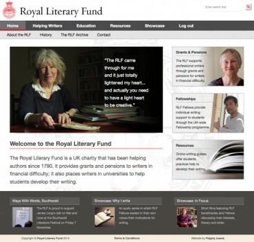 Royal Literary Fund website