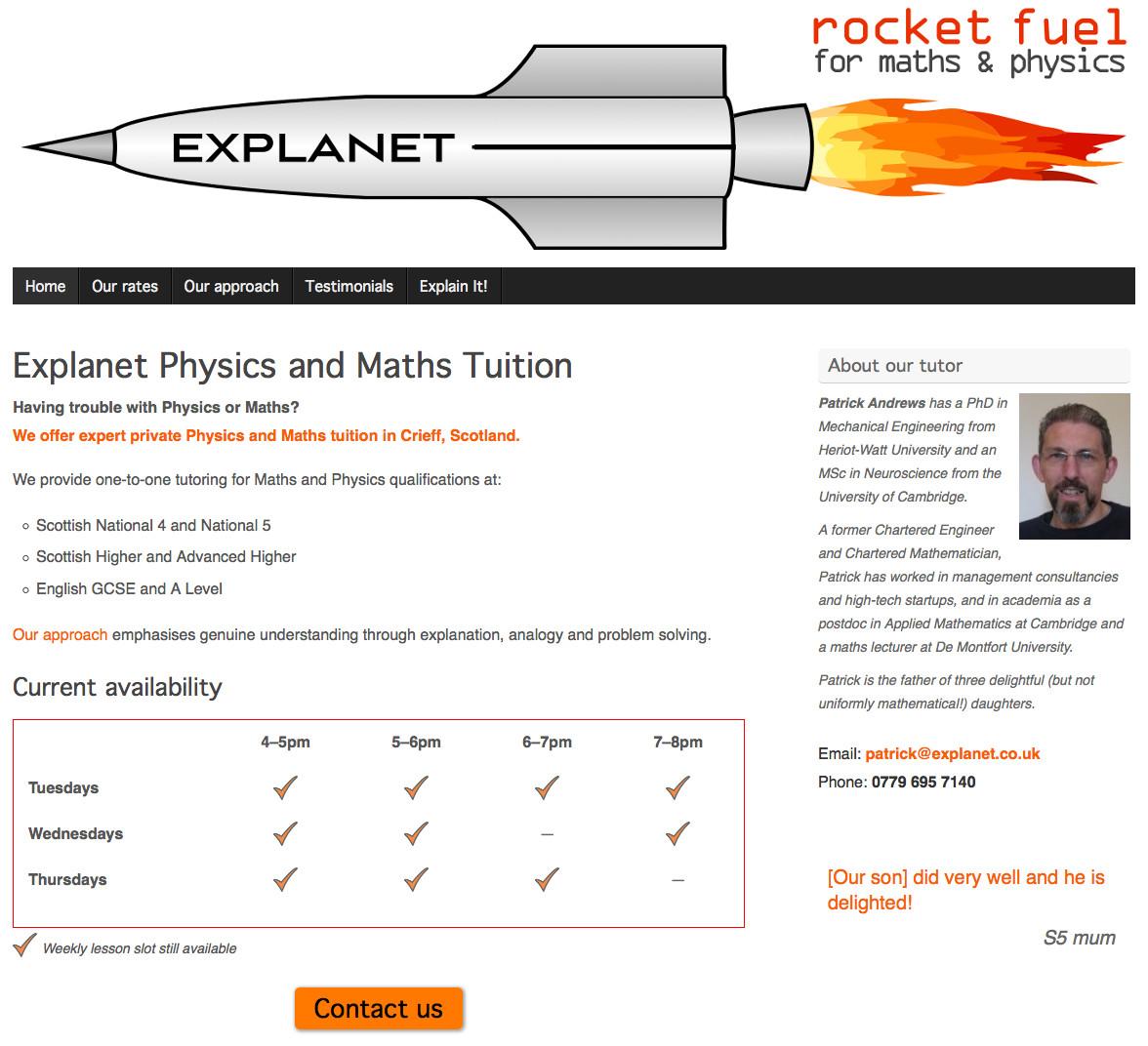explanet website